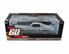 """GREENLIGHT 1/18 GONE IN 60 SECONDS 1967 FORD MUSTANG """"ELEANOR"""" Diecast Car 12909"""