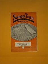 League Division Two - Swansea Town v Sunderland - 28th April 1962