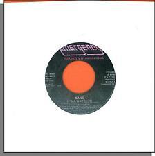 "Kano - It's a War + Ahjia - 1980 7"" 45 RPM Disco Single!"