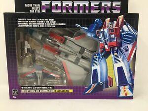 NEW Hasbro Transformers Decepticon Air Commander Starscream Walmart Reissue
