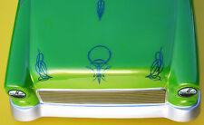 RC a Medida Rayas Azul Metálico Pegatinas Adhesivas 'nadadores profundos' TOLVAS