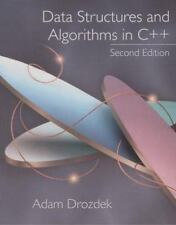 Data Structures and Algorithms in C++ by Adam Drozdek (2000, Hardcover)