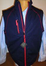 Bobby Jones X-H20 Performance Polyester Sandee Full Zip Vest NWT  Large $145