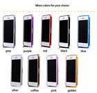 For iphone 5 5S aluminum metal bumper frame protective case cover