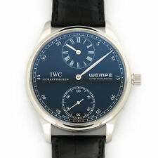 IWC Portuguese Regulateur Wempe Edition Platinum