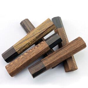DIY Japanischen Stil Küche Messer Koch Messer Ersatz Achteckige Holz Griff
