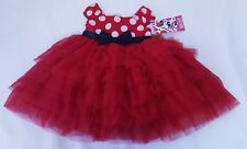 Disney Minnie Mouse Dress with Diaper Cover Infant Girl's Size 6 - 9 Months Nwt