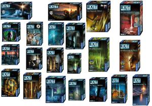 Kosmos Das Exit Spiel verschiedene Exit Spiele zur Auswahl Neu