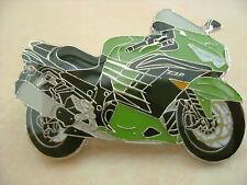 Kawasaki ZZR 1400 green Hat Pin Lapel Pin