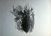 Ennio Morlotti - Litografia originale del '74, numerata e firmata