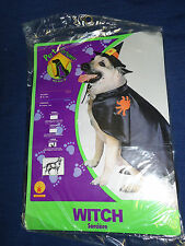 Halloween Pet Costume WITCH (Large) Dog New!