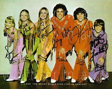 The Brady Bunch signed 8x10 inch print photo picture poster autograph RP