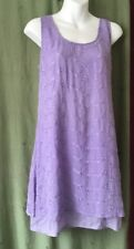 Women's Tunic Dress, 10 - 12, Mauve, Lilac, Kaleidoscope.