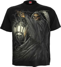 Spiral Direct Mort Lanterne T-Shirt,Faucheuse/ Motard/ Crâne /Gothique
