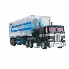 MPP10 WEIJIANG Transformers Optimus Prime Transparent Trailer OP Container New