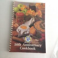 Albertsons 50th Anniversary Recipe Cookbook 1989 Very Good 70 Pages