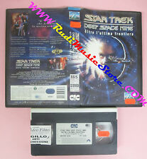 VHS film STAR TREK DEEP SPACE NINE oltre l'ultima frontiera 1994 (F145) no dvd