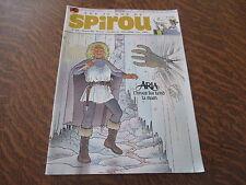 les 75 ans de spirou n° 3906 20 fevrier 2013 76e annee aria l'hiver lui tend la
