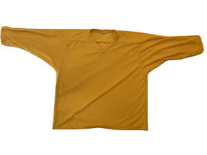 Pear Sox Men's Air Mesh Practice Hockey Jersey Yellow Size XXL