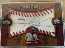 Sammy Sosa - 2002 Upper Deck Sweet Spot Signatures - Baseball  #102/145 AUTO