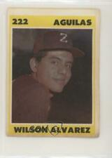 1987-88 Venezuelan Winter League Stickers Wilson Alvarez #222