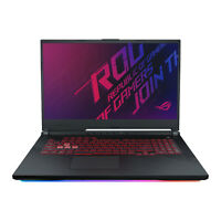"ASUS ROG 17.3"" Gaming Laptop i7-9750H, GTX 1660 Ti, Up to 32GB RAM and 2TB SSHD"