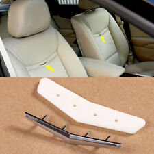 1x Interior Leather Seat Back Wave Crest Badge Trim Fit For Cadillac XTS CT6 ATS
