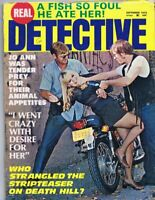ORIGINAL Vintage September 1975 Real Detective Magazine GGA