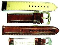 Un Bracelet ZRC 18 mm Aviator Fait Main strap handmade band watch cuir racing