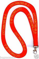 RED Firefly / Serenity Browncoat Lanyard ***FREE US SHIPPING!***