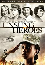 UNSUNG HEROES THE STORY OF AMERICA'S FEMALE PATRIOTS New DVD Ron Howard