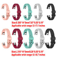 Silicone Watch Band Bracelet Wrist Strap Replacement For Fitbit Alta HR Watch