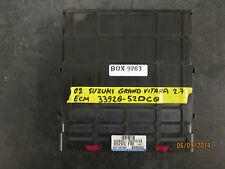 02 SUZUKI GRAND VITARA 2.7 ECM #33920-52DC0 *See item description*