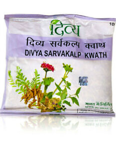 Patanjali Divya Sarvakalp Kwath 100 gm - Improves digestion, jaundice, oedema