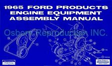 Mustang Assembly Manual Engine 1965 - Osborn Reproductions
