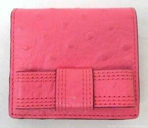 Kate Spade Small Pink Leather Bow Wallet
