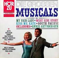 Various - Die Grossen Musicals (LP, Comp) Vinyl Schallplatte 118519