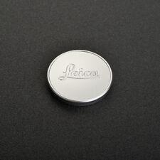 Silver Leica A36 36mm Front Metal Lens Cap Elmar 50/3.5 Summar Hektor 135/4.5