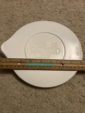 """Pampered Chef Lid Only for Measuring Glass Batter Bowl Measures 8"""" Across"""