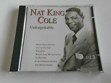 Nat King Cole - Unforgettable Cd 3 (CD Album) Used Very Good
