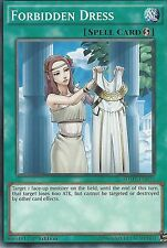 YU-GI-OH CARD: FORBIDDEN DRESS - SDMP-EN033 - 1st EDITION
