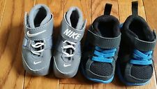 Nike  newborn baby-boy shoes, size 1C and size 2C