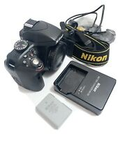 Nikon D3300 24.2MP Digital SLR Camera BLACK Body