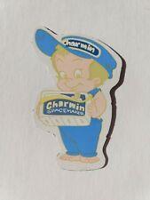 Vintage CHARMIN SPACEMAKER toilet paper boy Fridge Magnet Collectible toy