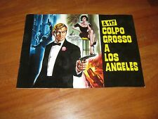 BROCHURE,A117 COLPO GROSSO A LOS ANGELES,granger,Randall Lee,Katcher Holden spy