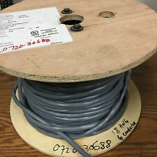 Alpha Wire M33506, 18-6C PVC STR TNC PVC, Grey Cable, Priced by Foot
