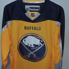 NHL REEBOK Premier Buffalo Sabres Hockey Jersey New MEDIUM