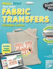 Sticker You Make + Print Your Own Fabric Transfers BLANK FABRIC TRANSFERS New