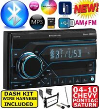04-10 CHEVY PONTIAC SATURN BLUETOOTH AM/FM/USB/AUX/MP3/SD RADIO  STEREO PKG