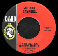 """JO ANN CAMPBELL """"I'M THE GIRL FROM WOLVERTON MOUNTAIN/Joe"""" CAMEO 223 (1962) 45"""